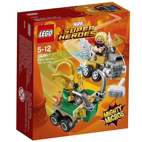 Lego 76091 Super Heroes - Mighty Micros: Thor срещу Loki