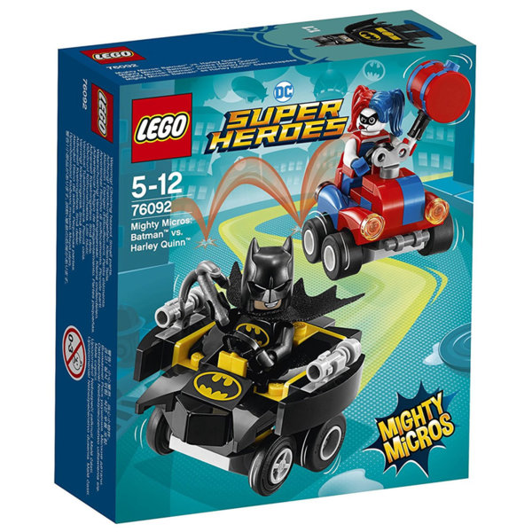 Lego 76092 Super Heroes - Mighty Micros: Batman срещу Harley Quinn