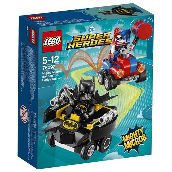 Lego 76092 Super Heroes - Mighty Micros: Batman срещу Harley Quinn
