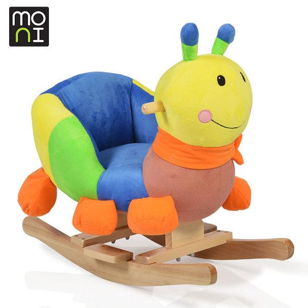 Moni - Музикална плюшена люлка Caterpillar 106081