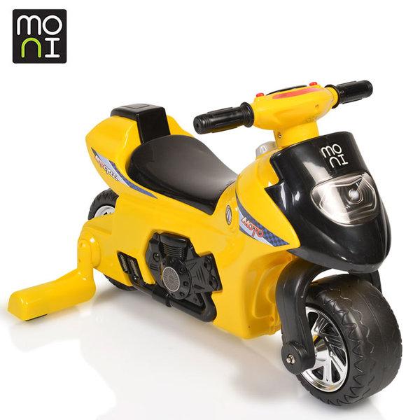 Moni - Детски балансиращ мотор First step 617 жълт 106179