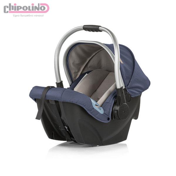 Chipolino - Столче за кола Up&Down (0-13кг) синьо индиго