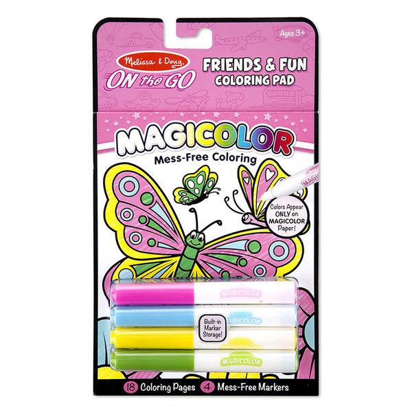 Melissa&Doug - Книжка за оцветяване с магически маркери 19134