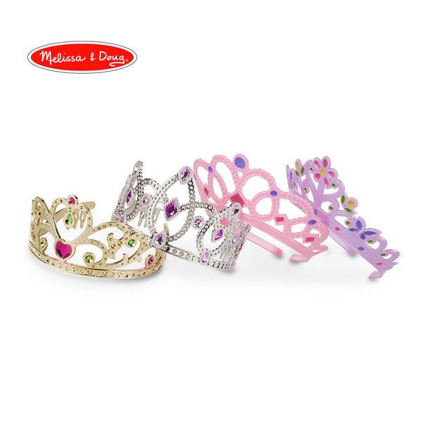 Melissa&Doug - Комплект корони за принцеси 18525