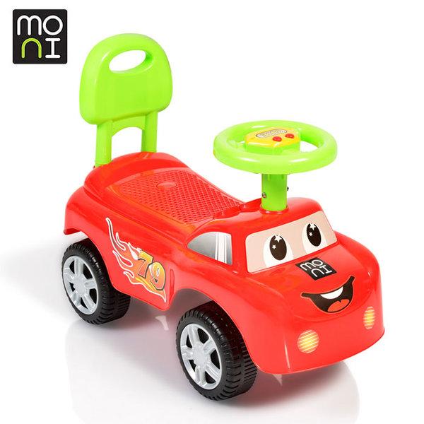 Moni - Детска кола за бутане с крачета Keep riding 618a червена 106042