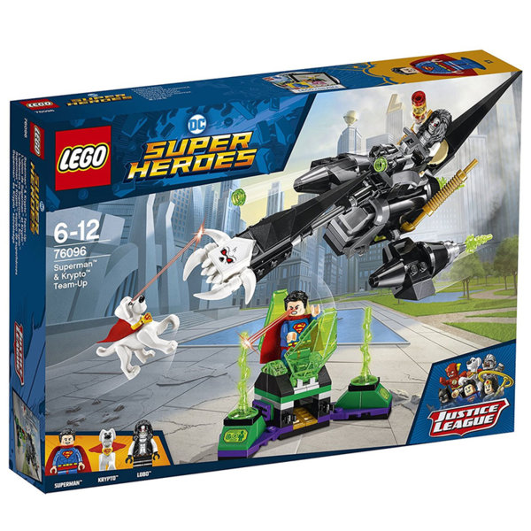 Lego 76096 Super Heroes - Superman & Krypto Team-Up