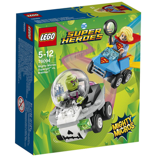 Lego 76094 Super Heroes - Mighty Micros: Supergirl срещу Brainiac