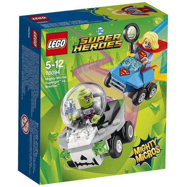 Lego 76094 Super Heroes - Mighty Micros: Supergirl срещу Brainiac
