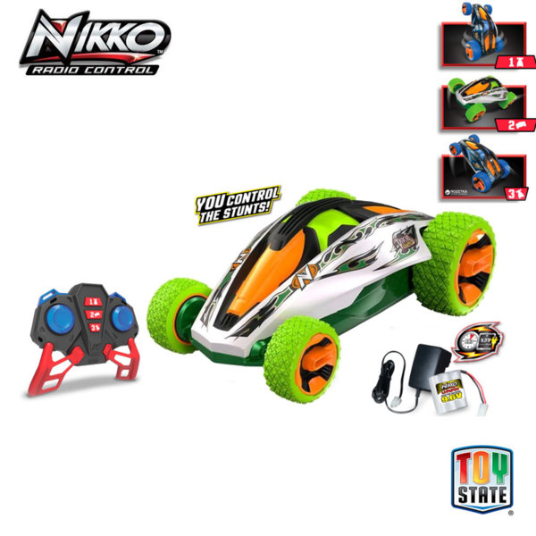 Nikko - Кола за каскади с дистанционно управление Psycho Gyro 90252