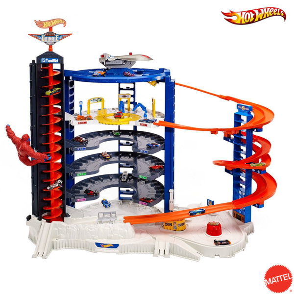 Hot Wheels - Голям гараж паркинг Super Ultimate Garage fdf25
