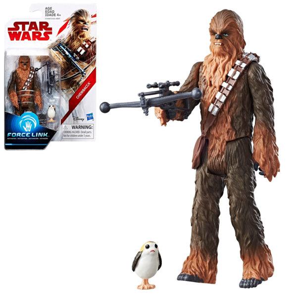 Hasbro Star Wars Force Link - Екшън фигура Стар Уорс Chewbacca 9.5см c1531