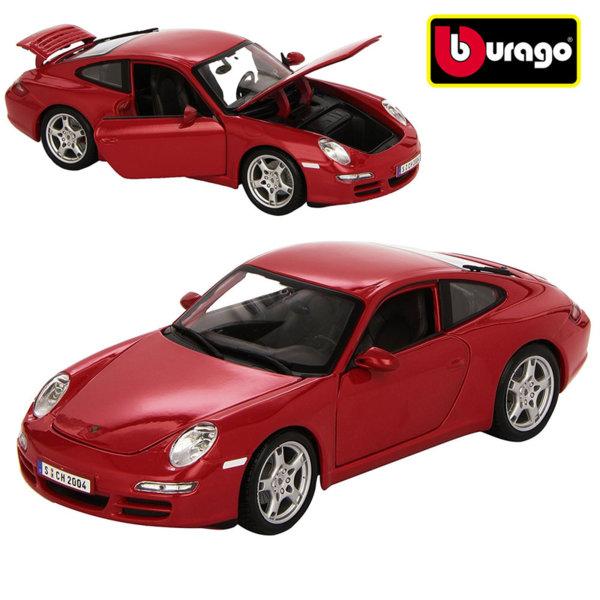 Bburago - Кола 1:18 Porsche 911 Carrera 4  18-12037