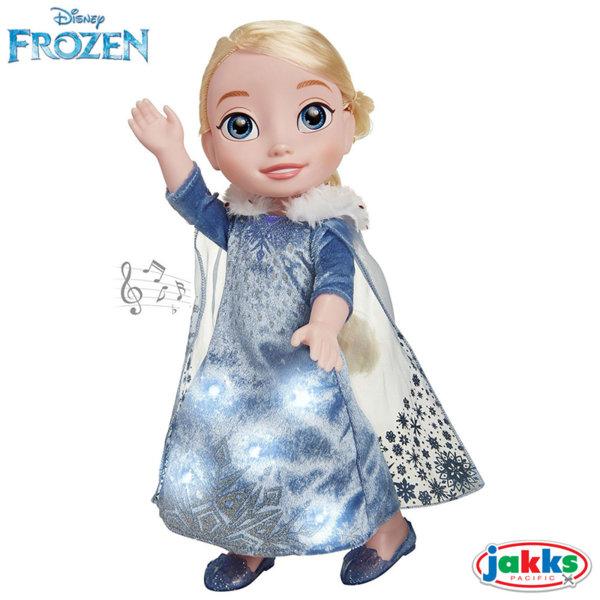 Disney Frozen - Пееща кукла Елза със светлинни ефекти 35см 72536
