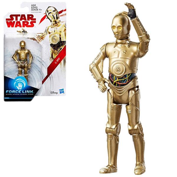 Hasbro Star Wars Force Link - Екшън фигура Стар Уорс C-3PO 9.5см c1531