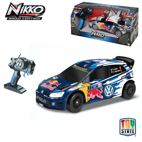 Nikko - Кола с дистанционно управление Volkswagen Polo WRC 94134