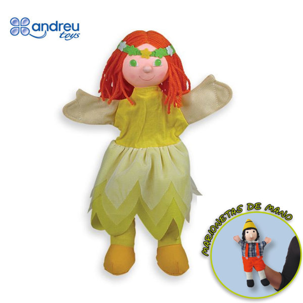 Andreu Toys - Кукла за куклен театър Момиче 16053