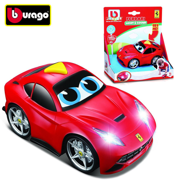 Bburago Junior - Кола Ferrari със звук и светлини 16-81003