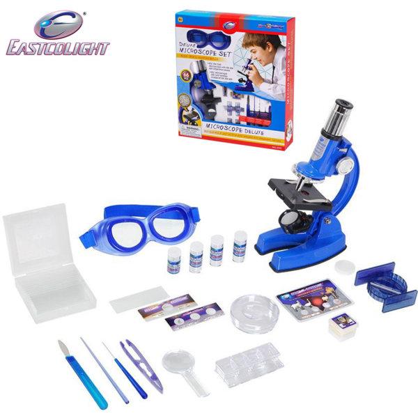 1Eastcolight - Детски комплект с метален микроскоп 21321