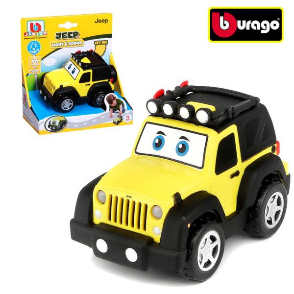 Bburago Junior - Кола Jeep със звукови и светлинни ефекти 16-81201