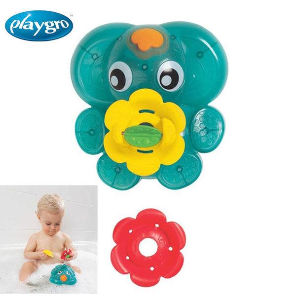 Playgro - Играчка за баня Светещ фонтан слонче 0525