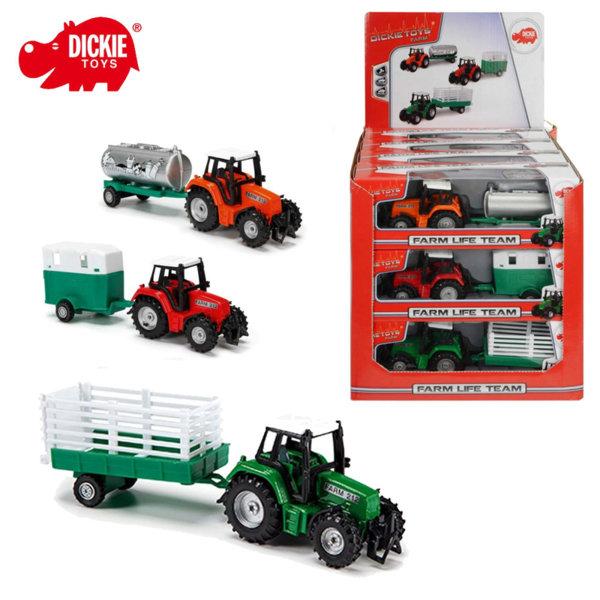 Simba Dickie - Детски трактор с ремарке Claas  203733001
