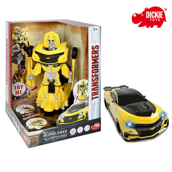 Simba Dickie Transformers - Трансформърс Бъмбълбий Ms Robot Fighter Bumblebee 203113016