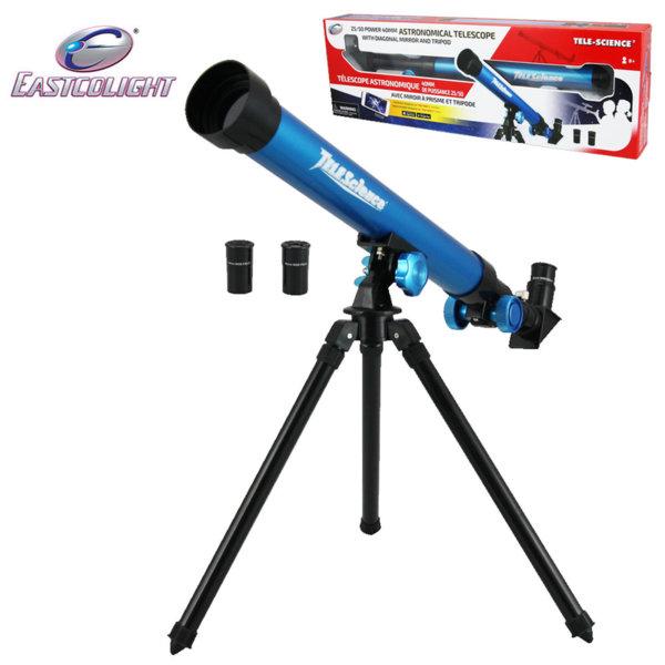 1Eastcolight - Детски телескоп 25/50 с трипод 23021