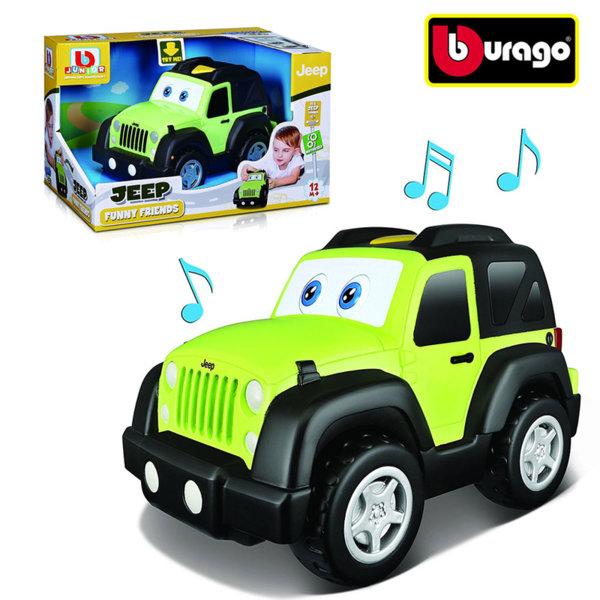 Bburago Junior - Кола Jeep със звукови и светлинни ефекти 16-81531