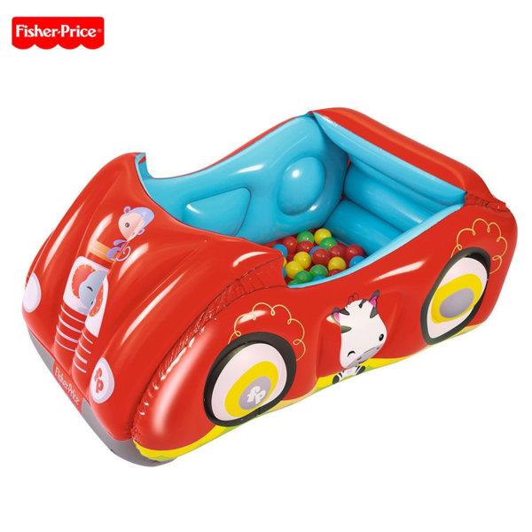 Fisher Price - Надуваема кола с топки 93520