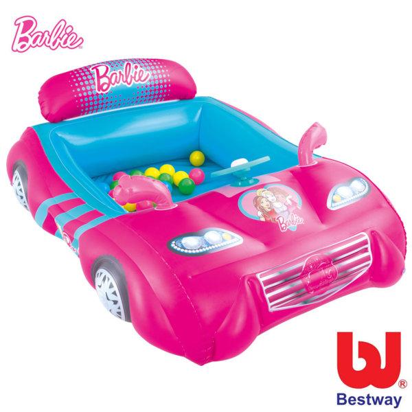 Bestway - Детска надуваема кола Barbie 93207