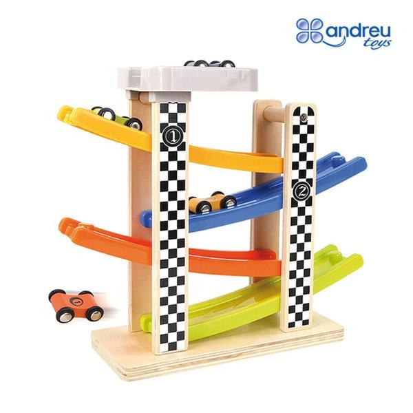 Andreu Toys - Детски ролбан с колички 15414