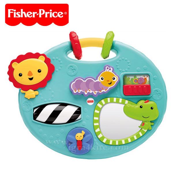 Fisher-Price - Забавен панел за игра с животни cmy39
