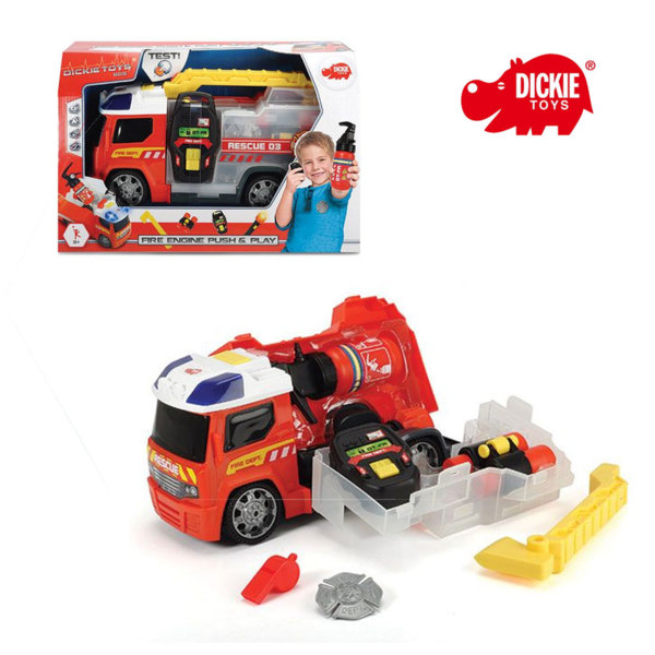 Simba Dickie - Детска пожарна-куфар 33см 203716006
