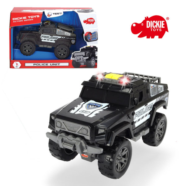 Simba Dickie - Полицейска кола Action 20см 203304011