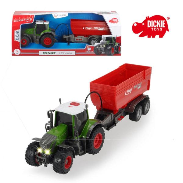 Simba Dickie - Детски трактор Fendt 939 Vario 41см 203737000