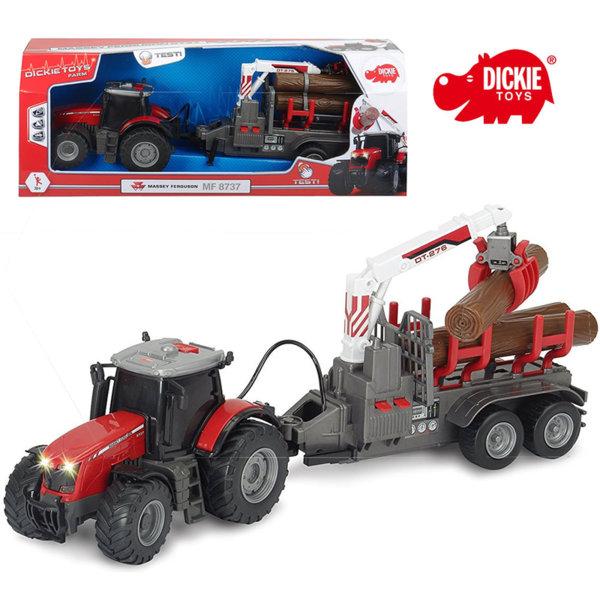 Simba Dickie - Детски трактор Massey Ferguson 42см 203737001
