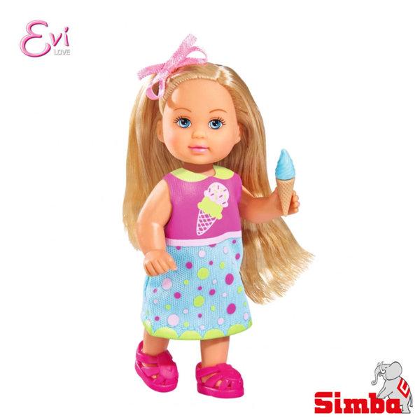 Simba - Кукла Еви с машина за сладолед 105733014