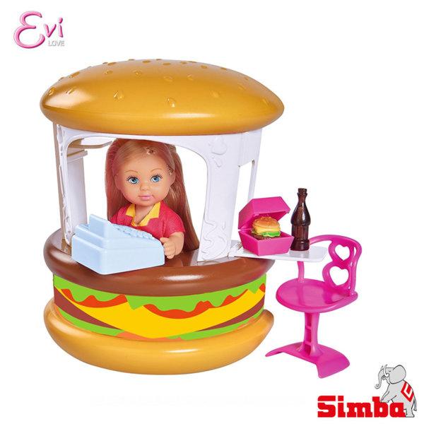 Simba - Кукла Еви в магазин за бургери 105733050