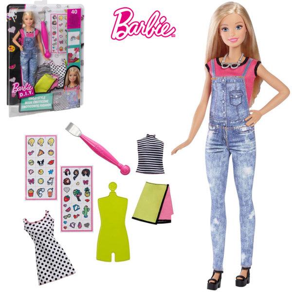 Barbie - Кукла Барби Моден дизайнер Емоджи стил DYN92