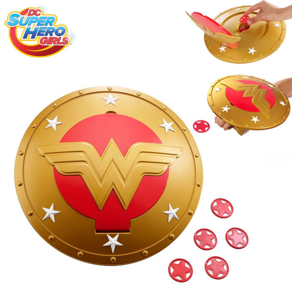 Super Hero Girls - Супер герои Щита на Wonder Woman dmp06