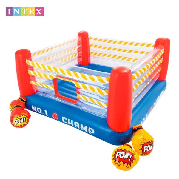 Intex - Детски надуваем боксов ринг с ръкавици 48250