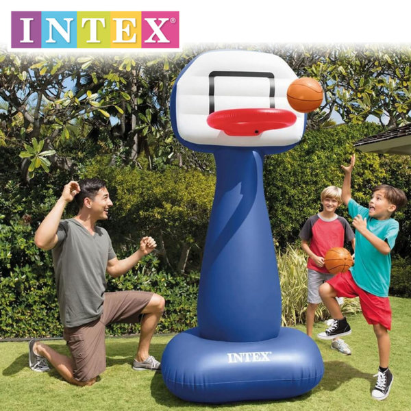 Intex – Надуваем баскетболен кош 57502