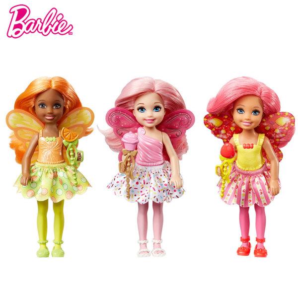 Barbie Dreamtopia - Кукла Челси фея с вълшебна пръчица DVM87