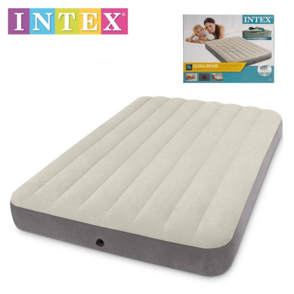 Intex – Надуваем матрак 137x191х25см 64102