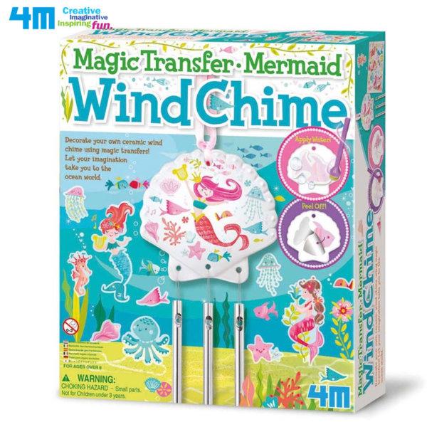 4M Creative toys - Направи сам Вятърни камбанки Русалки 04683