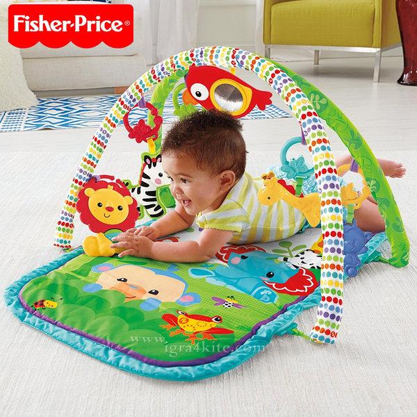 Fisher Price - Активна гимнастика 3в1 Тропическа гора CHP85