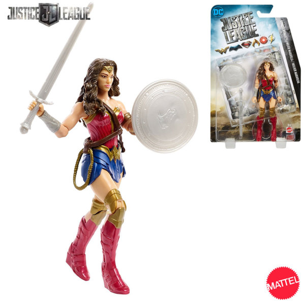 Mattel Justice League - Екшън фигура Жената чудо 15.2см FGG60