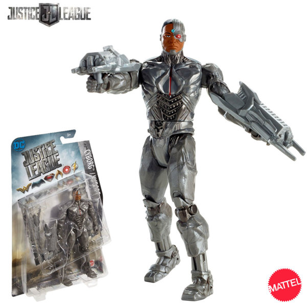 Mattel Justice League - Екшън фигура Киборг 15.2см FGG60