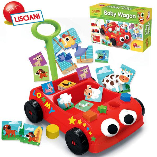 Lisciani Giochi – Бебешка количка със занимателни игри 57733