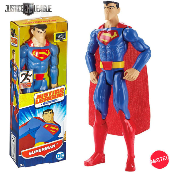 Mattel Justice League - Екшън фигура 30см Супермен FBR02